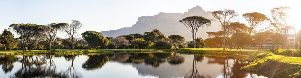 Südafrika - Kapstadt - Golfplatz
