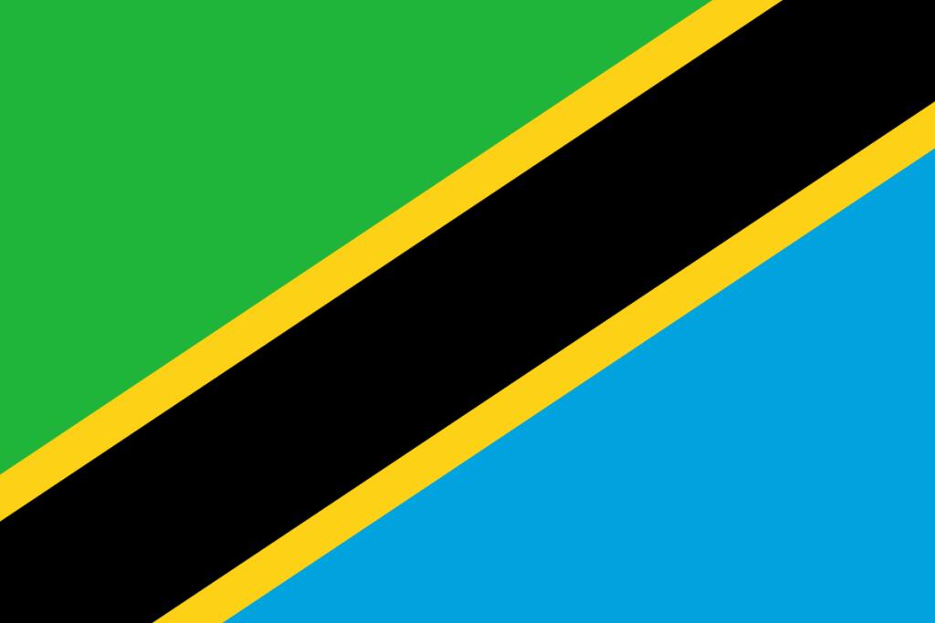 Tansania-Flagge