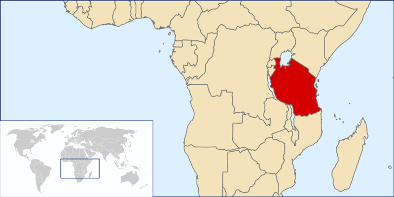 Tansania Lage