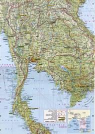 Thailand Karten