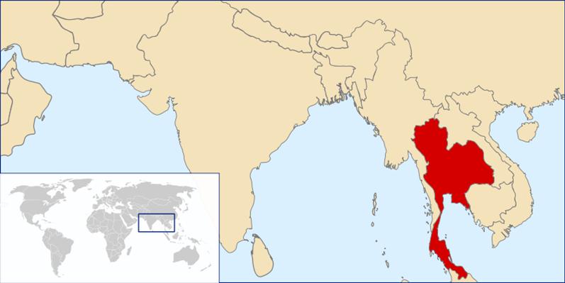 Thailand Lage