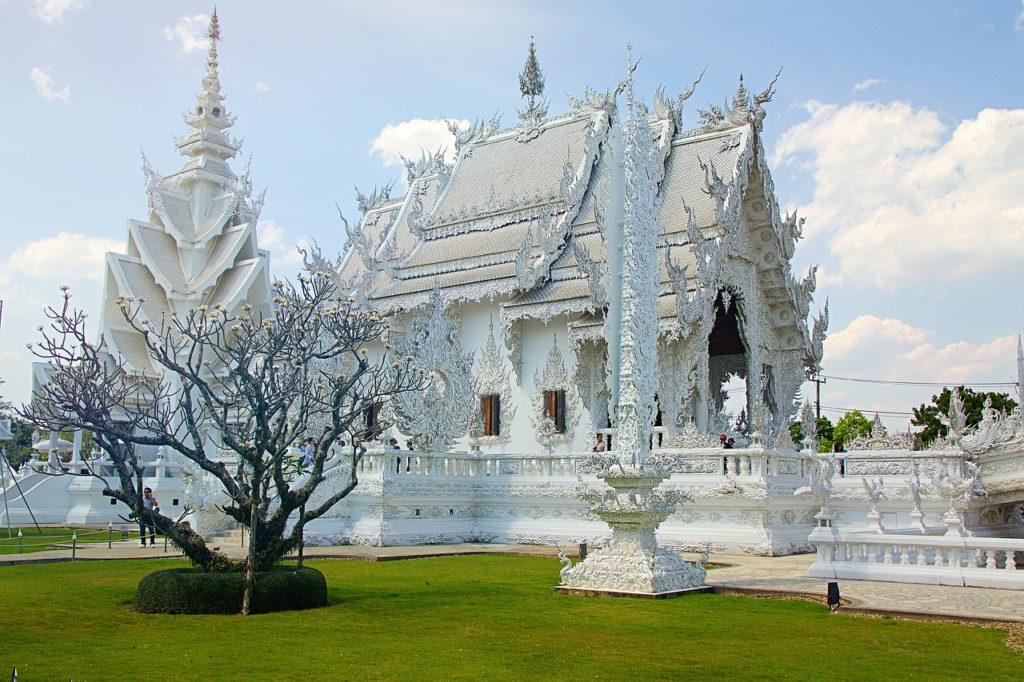 Thailand - Weißer Tempel