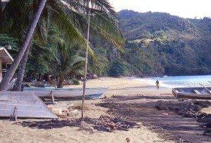 Castara Strand auf Tobago