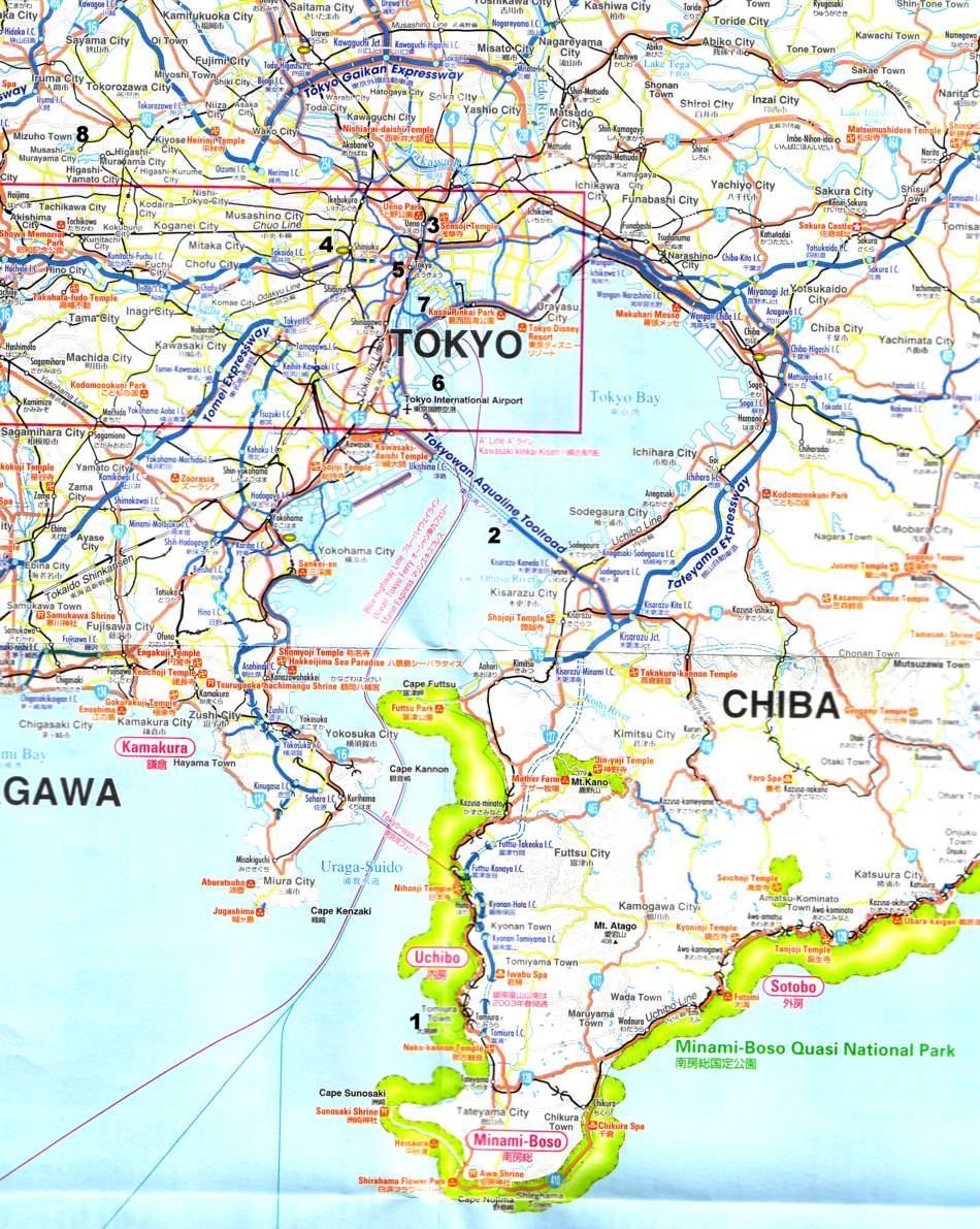 Tokyo Karte