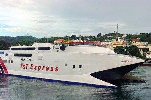 Expressfähre zwischen Trinidad und Tobago