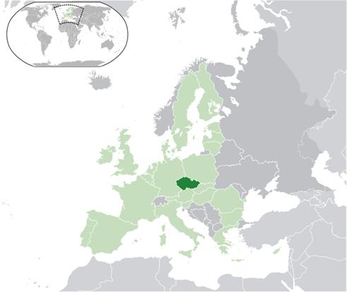 Tschechien Lage