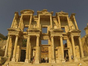 Tuerkei Ephesos Celsus Bibliothek