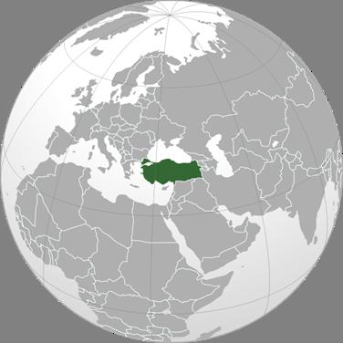 Türkei Lage