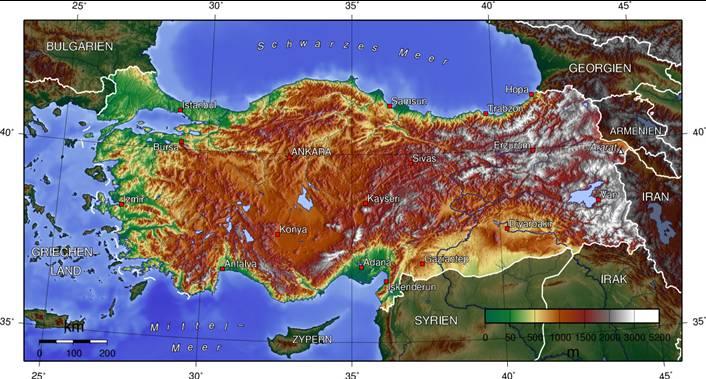 Türkei Nachbarstaaten