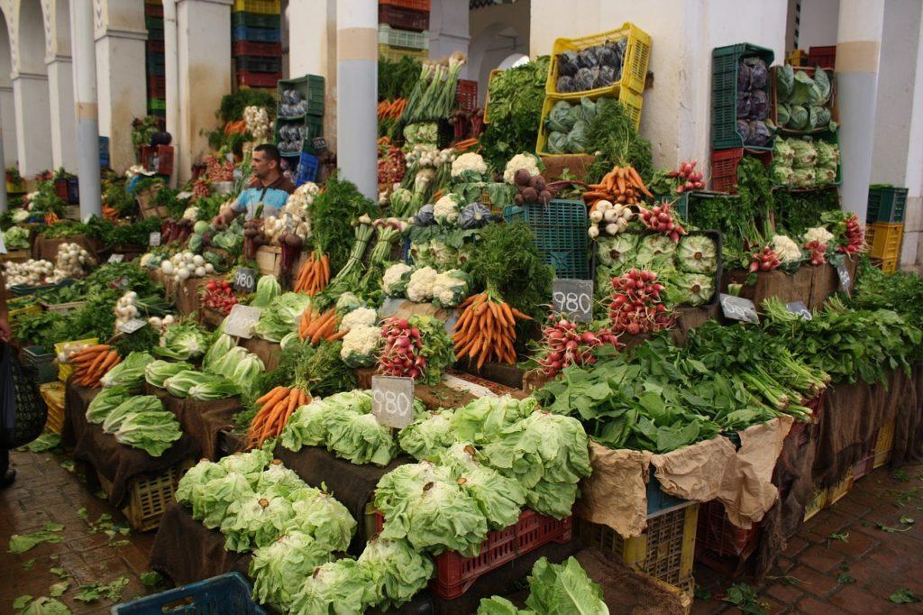 Tunesien - Gemüesemarkt