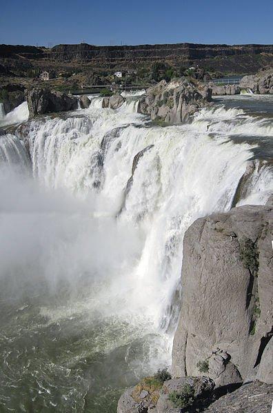 USA Idaho Shoshone Falls