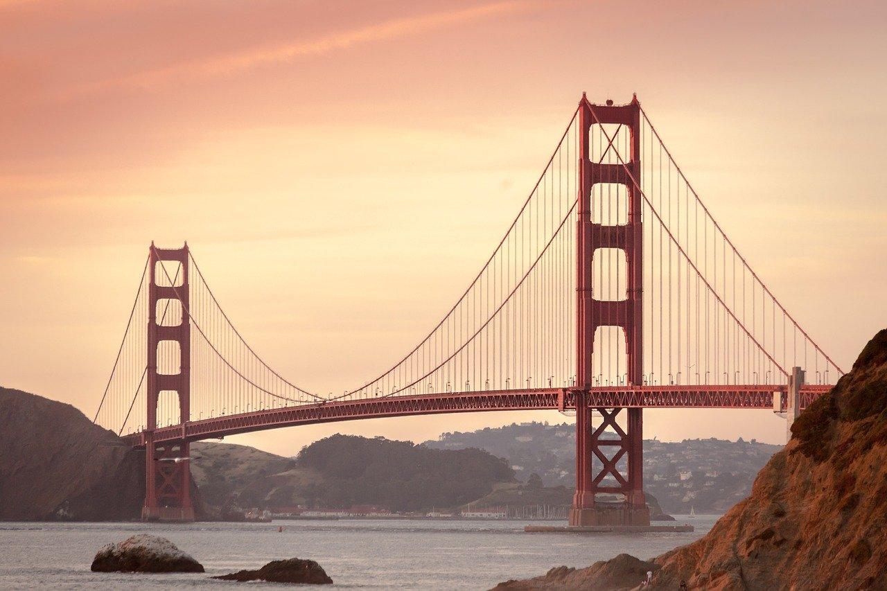 USA - Kalifornien - San Francisco - Golden Gate Bridge