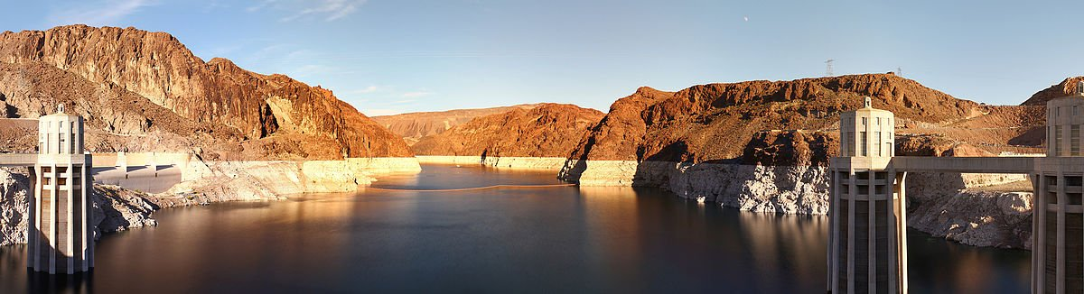 Lake Mead - Hooverdamm