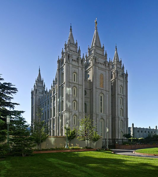 USA Utah Salt Lake Tempel