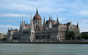 Ungarn Budapest Parlamentsgebäude