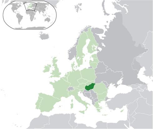 Ungarn Lage