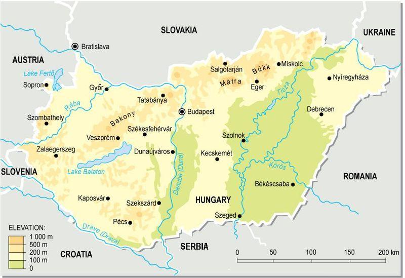 Ungarn Nachbarstaaten