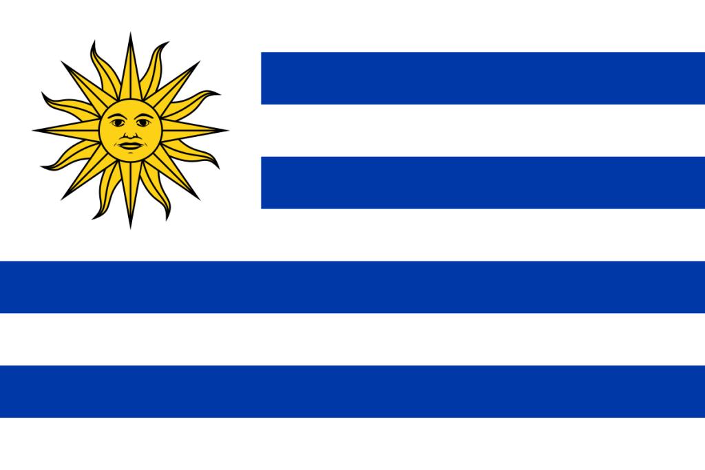 Uruguay-Flagge