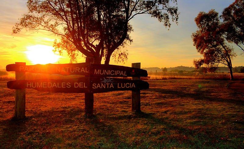 Uruguay - Humedal del Santa Lucía