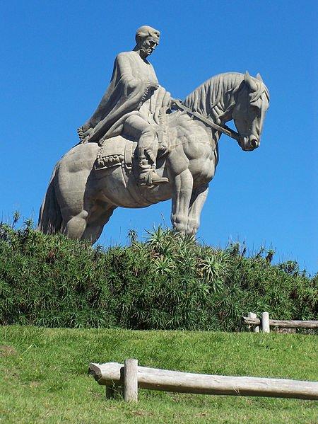 Uruguay - Lavalleja - Monumento a Artigas