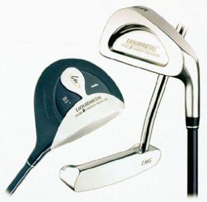 Verschiedene Golfschläger