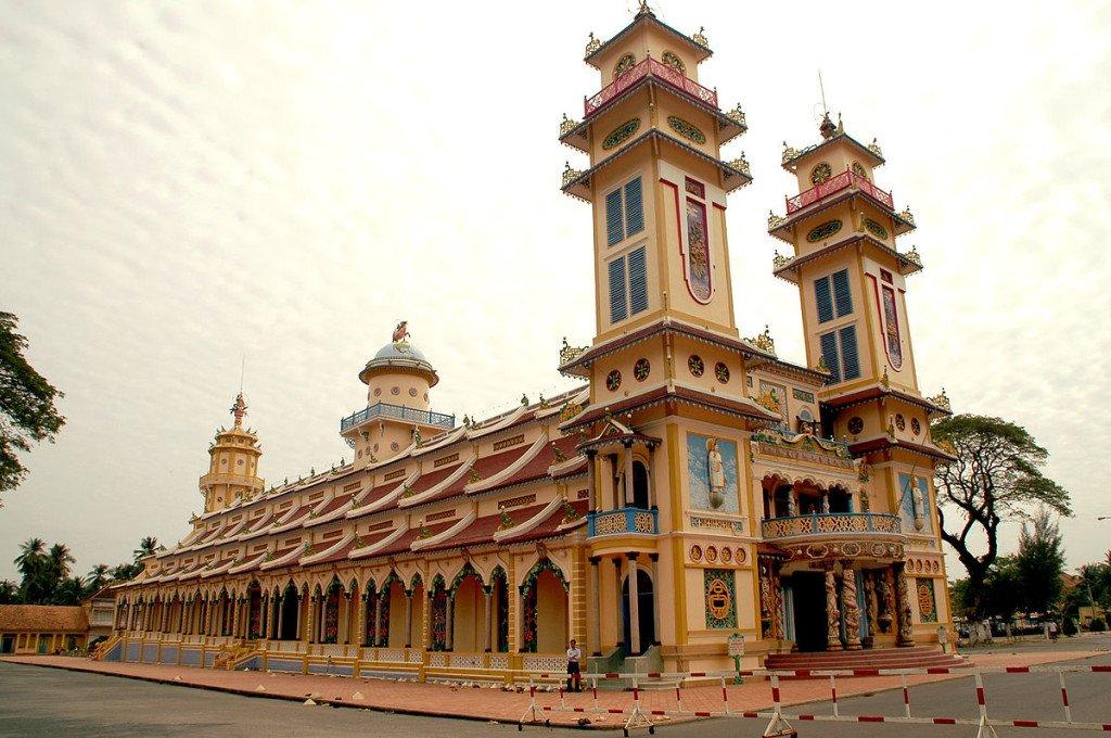 Vietnam Cao Dai Tempel