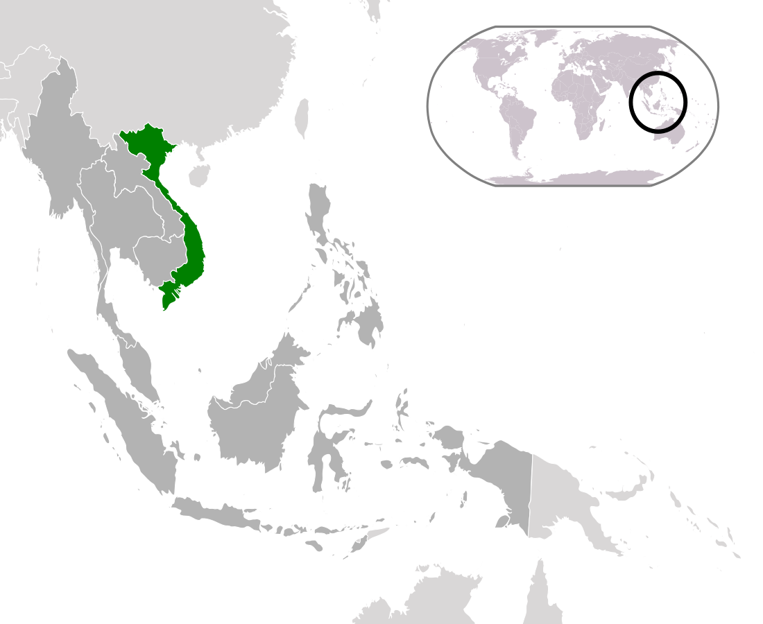 Vietnam Lage