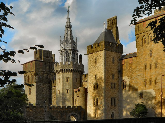 Wales Cardiff Castle