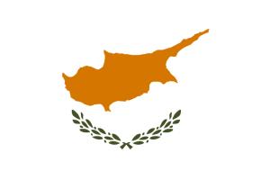 Zypern-Flagge