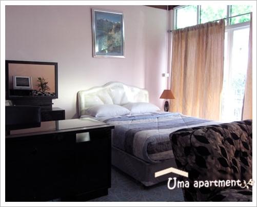 Uma Apartment – günstige Zimmer zu vermieten in Soi 27, Naklua Road, Pattaya.