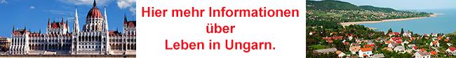 Infos über Leben in Ungarn
